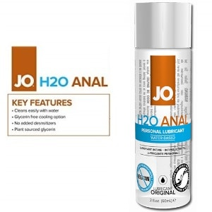Water-based anal lube