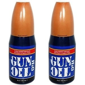 Gun Oil H2O Water-Based Personal Lubricant