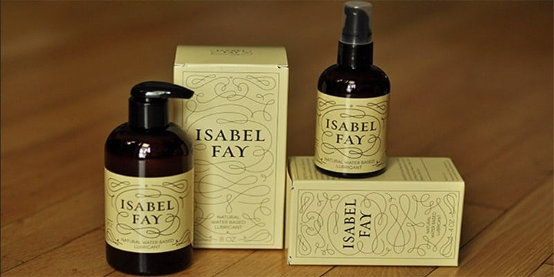 Isabel Fay Natural Water-Based Personal Lubricant
