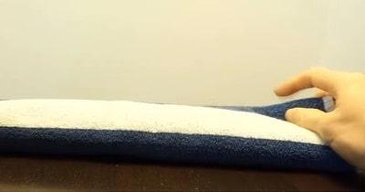 Folded Towel Pussy 1