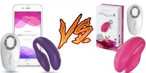 We-Vibe Sync vs We-Vibe 4 Plus